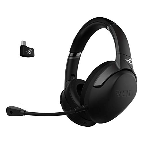 ASUS ROG Strix Go 2.4 Gaming Headset (kabellos, 2,4 GHz, AI-Noise-Cancellation, PC, Konsole) schwarz