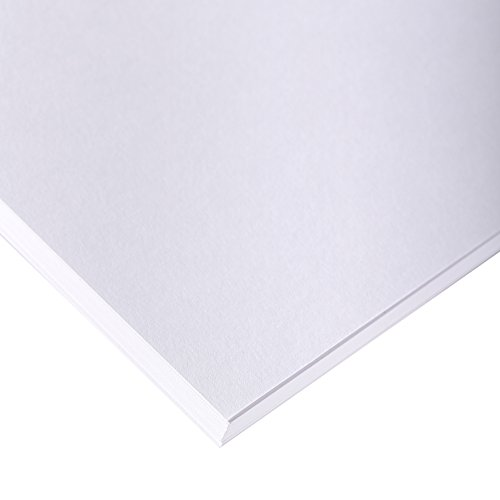 Clairefontaine 37305C Skizzenpapier (180 g, DIN A1, 59,4 x 84,1 cm, 10 Blatt, ideal für Künstler oder die Schule) weiß