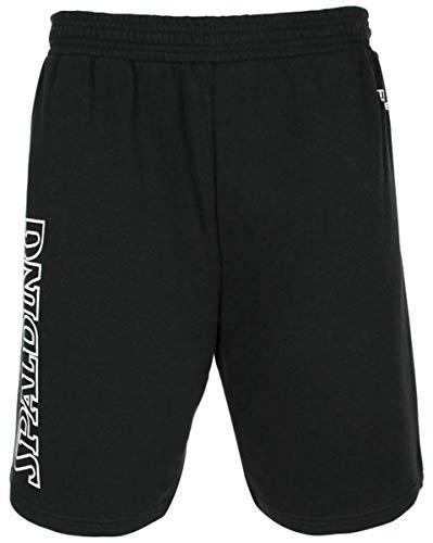Spalding - Team II - Short Basketball - Homme - Noir - FR : L (Taille Fabricant : L)