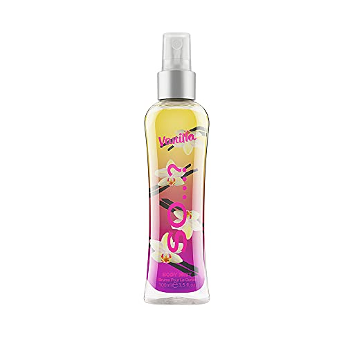 Body Mist By So…? Womens Vanilla Body Mist Fragrance Spray 100ml