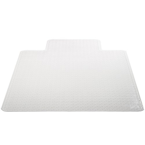 Deflecto DuraMat Clear Chair Mat, Low Pile Carpet...