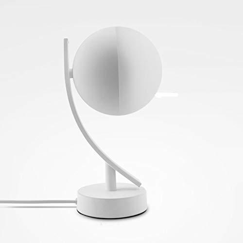 WZHZJ Lámparas de Escritorio LED 7W Smart Voice Control LED Aplicación WiFi Control Remoto Regulable Mesa de Dormitorio Luces de Noche
