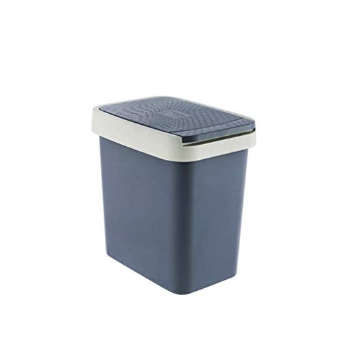 Affordable LPZ Hand Press Trash Can Lid Home Bathroom Living Room Rectangular Flip Cover With Lid To...