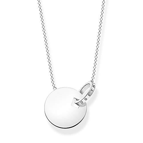 Thomas Sabo Women Sterling Silver Not Applicable Necklace - KE1948-637-21-L60v