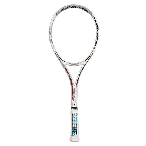 ミズノ ソフトテニスラケット ディープインパクト Zフォワード 63JTN58001 ホワイト