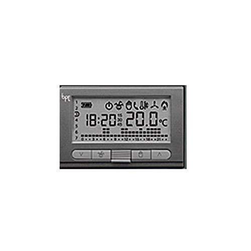 Bpt th350 crono termostato digitale settimanale 69409100 grigio antracite