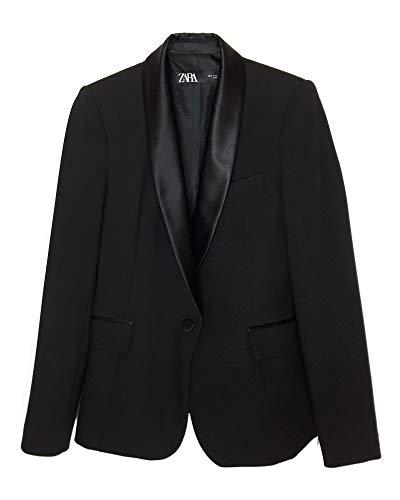 Zara donna blazer stile - Smoking con revers abbinato