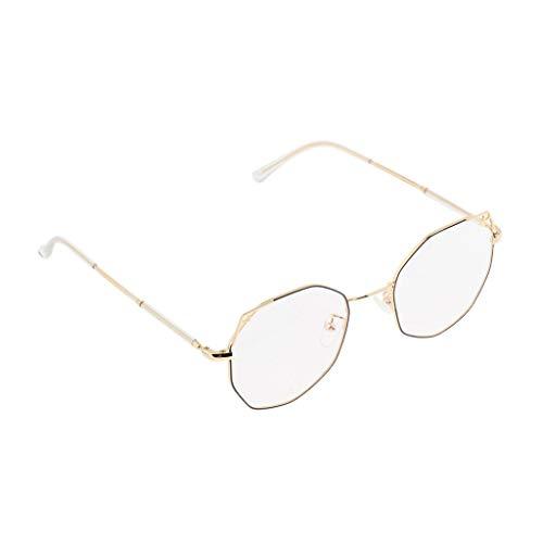 Bonarty Gafas de Montura óptica de Gafas para Mujer, Lentes Transparentes, Gafas Elegantes de Viaje - 05
