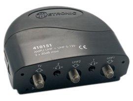 Métronic 410151 - Amplificador con acoplamiento (2 entradas UHF, 5 V) (importado)