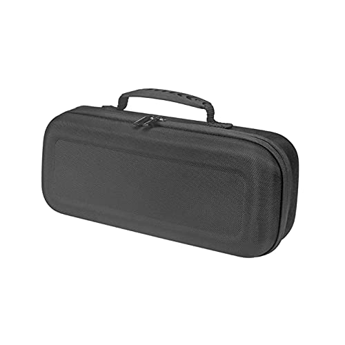 FSLLOVE FANGSHUILIN Quadratisch stoßfest Hardcover Schutzfall Kasten Fit für -Sony SRS-XB33. Extra BASS Drahtloser Bluetooth-kompatibler Lautsprecher (Color : Black)