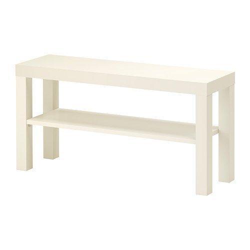 IKEA Lack TV-Bank in weiß; (90x26cm)