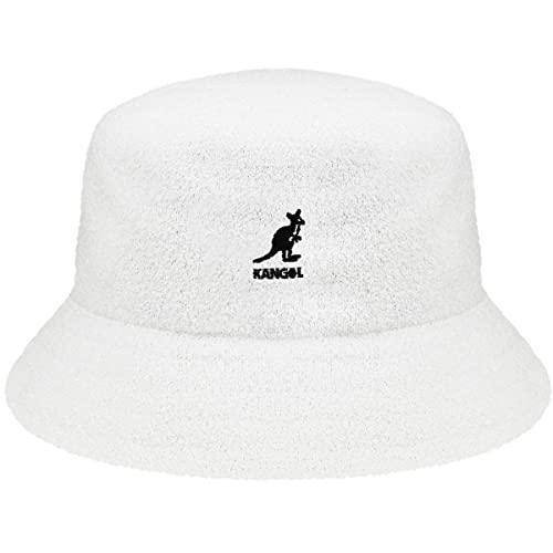 Kangol Men's Headwear Kangol Unisex Fischerhut Gr. Small, weiß