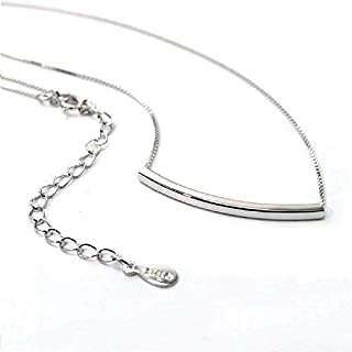 Adjustable Honeycomb Drop Bead Snake Chain Necklace in Sterling Silver