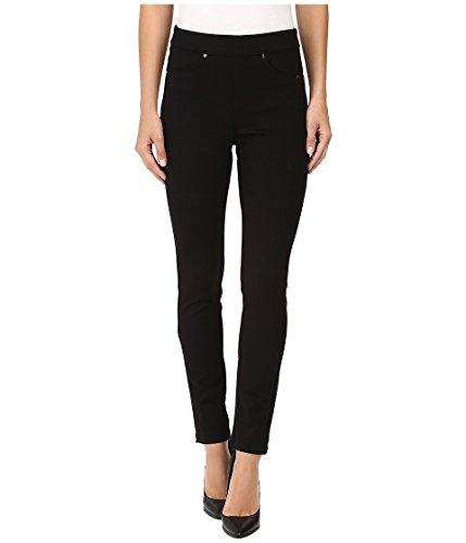 FDJ French Dressing Jeans Stretch Bengaline Pull on Slim Jegging Black