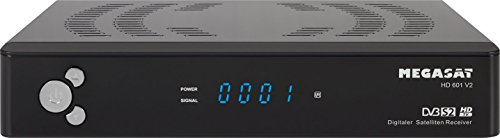 MegaSat 601 V2 HD Satelliten Receiver schwarz