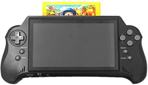 JFZCBXD 7 Pouces Portable Console de Jeu avec Carte Game 4K HD HDMI Sortie TV / 2 Game Player