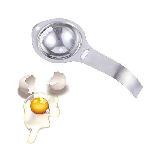 You&Lemon 2 Piezas Separador de Claras e Yemas de Huevos Acero Inoxidable Separador Manual de Huevos de Cocina Herramienta de Panadería Extractor de Huevo