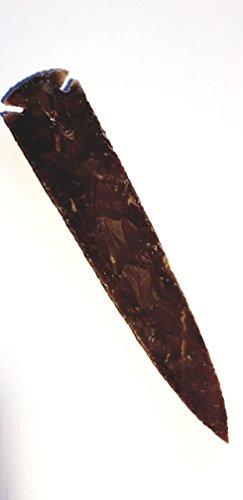 Große Pfeilspitzen/Speerspitzen bis 25cm Steinzeit Nachbau (17-19cm)