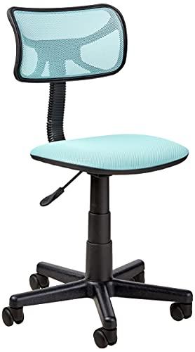 Urban Shop Swivel Mesh Desk Chair, Blue