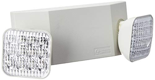 Lithonia Lighting EU2C M6 LED Emergency Light, Remote Enabled, Generation 3, T20 Compliant