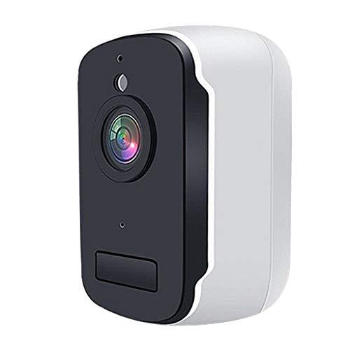 Blesiya Cámara de Seguridad inalámbrica WiFi PIR 1080p Impermeable al Aire Libre detección de Movimiento Humano - Sin batería