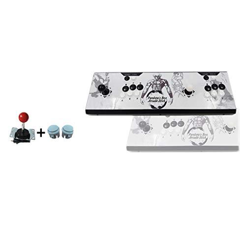 YYF Diverse Moonlight Box 9 consola estándar de 6 teclas, 1500 juegos, DX Nostálgico Home Arcade...