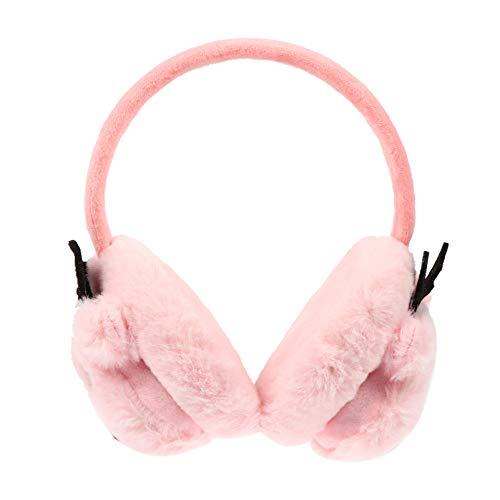 VOSAREA Weihnachten Ohrenschützer Rentier Geweih Winter Fleece Ohrschützer Stirnband Plüsch Ohrwärmer Ohrenwärmer für Frauen Mädchen Kinder Weihnachtsgeschenke