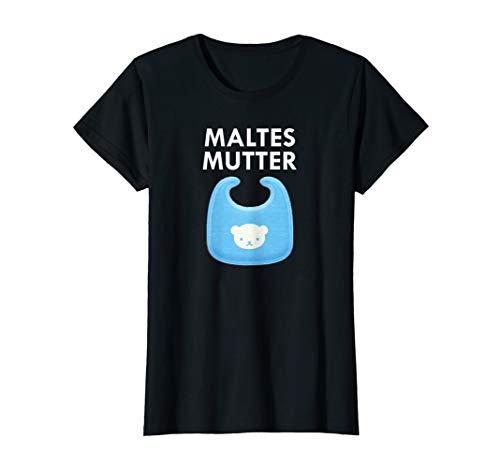 Damen Mutter Baby Malte Individuelles Tee für Mütter von Söhnen T-Shirt