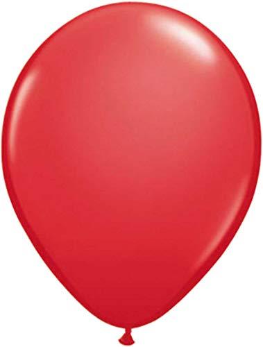 Folat 08103 Rote Ballons 30cm-100 Stück