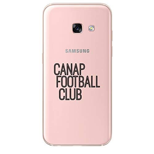 Zokko - Carcasa para Samsung Galaxy A3 2017 (Poliuretano termoplástico), Color Negro