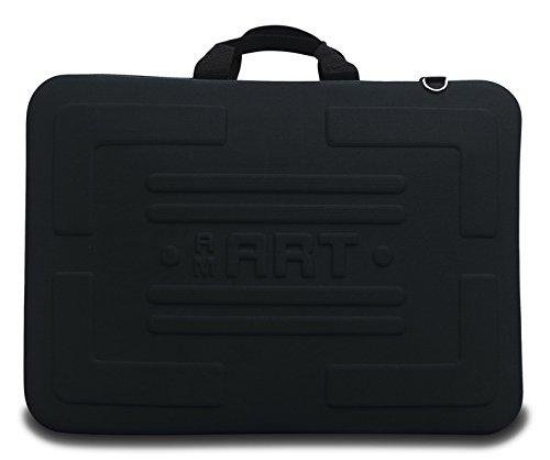 A2A3arte funda de transporte arte artista Cartera carpeta caso arte dibujos protección bolsa, negro, A2 Print size up to 420X594 MM