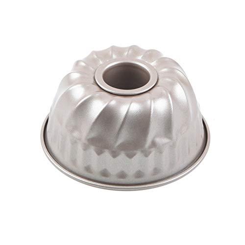 Moule Kouglof antiadhésif Mini moule à tarte cannelé Bague Moule à gâteau pour la cuisson (10,2cm), quantité: 1pièce