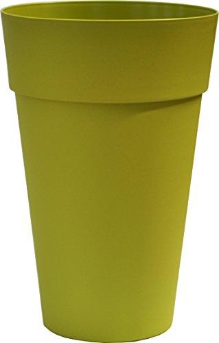 JAIME Pot Colonne Ronde CHAPELU-Vert OLIVE-Ø35