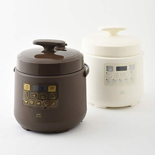BRUNO電気圧力鍋時産家電ほったらかし調理マルチ圧力クッカー母の日誕生日BOE058-BRブラウン