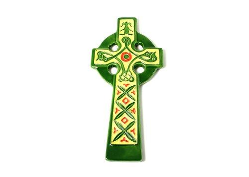 Royal Tara Irish Celtic Ceramic Hand Painted Wall Cross