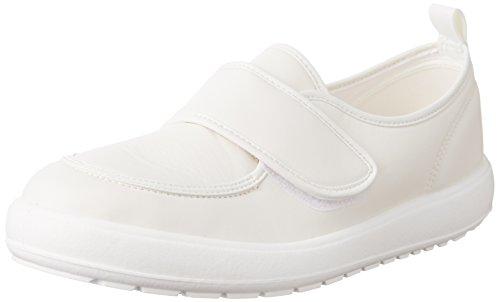 [ムーンスター] 上履き 日本製 3E メンズ レディース MSオトナノウワバキ04 ホワイト JP JP22.0(22cm)