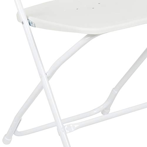 HERCULES 800-pound capacity Plastic Folding Chair