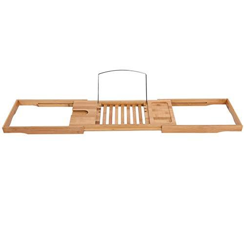 ffu 1 Pedazo De Bañera De Bambú Expandible, Estante, Baño De Ducha De Baño Estantería