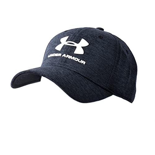 Under Armour® HeatGear® Twist Stretch Fit Baseball Cap Black Mottled...