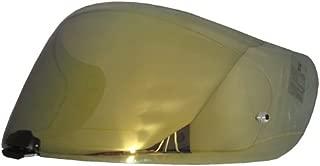 HJC Helmet Shield / Visor HJ-20M(Gold, Silver, Blue) For FG-17, IS-17, RPHA ST helmets, Bike Racing Motorcycle Helmet Accessories - Made in Korea (Gold)