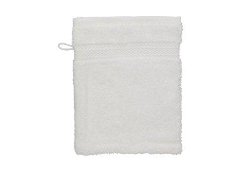 Betz Gant de Toilette pour Visage Corps Gant de Toilette Taille 16x21 cm 100% Coton Premium Couleur Blanc
