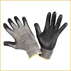 Sperian Polytril Air Comfort Schutzhandschuhe, Gr. 9 - Bündel mit 10 Paar