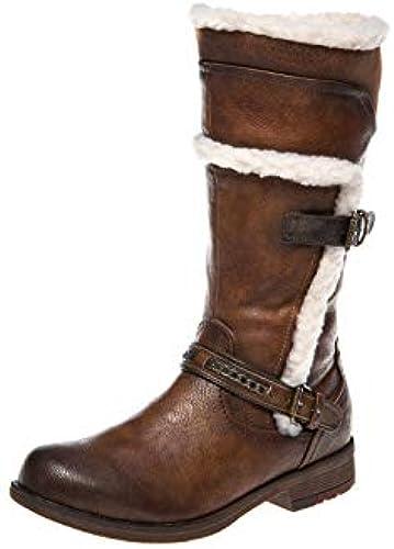 Mustang Damen Stiefel gefüttert Braun, SchuhGröße SchuhGröße