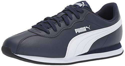 PUMA Men's Turin Sneaker, Peacoat White, 10 M US
