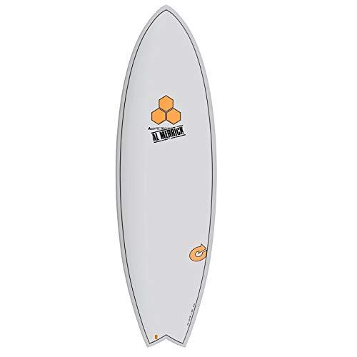 Tabla de Surf Channel Islands X-Lite Pod Mod 5.10 Gris Al Merrick Fish Eps Epoxy