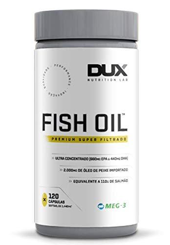 Fish Oil Omega 3 - Óleo De Peixe - 120 Cápsulas Dux
