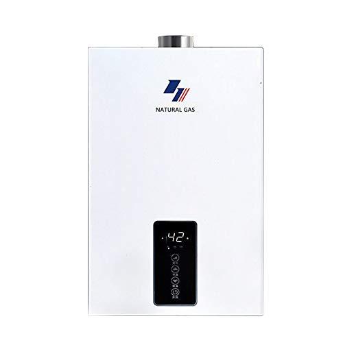 2400W Gaswarmwasserbereiter Erdgas-/Flüssiggas-Heißwasserkessel, Haushalts-Thermostat-Warmwasserbereiter,Druckerhöhungspumpe -10L/12L/ 16L (Color : Liquefied Gas, Size : 16L)
