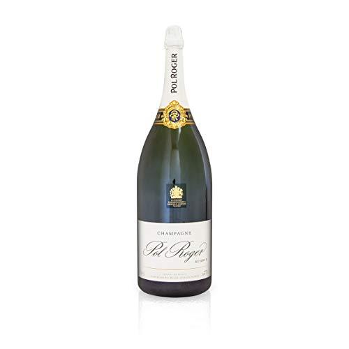 Champagne Pol Roger White Foil Brut, Methusalem