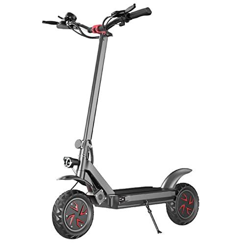 オフロードの電気スクーター、デュアルドライブの折りたたみ式アダルトトラベルリチウム電池の電池の電気自転車の間、通勤/旅行、携帯用、折り畳み可能に適しています