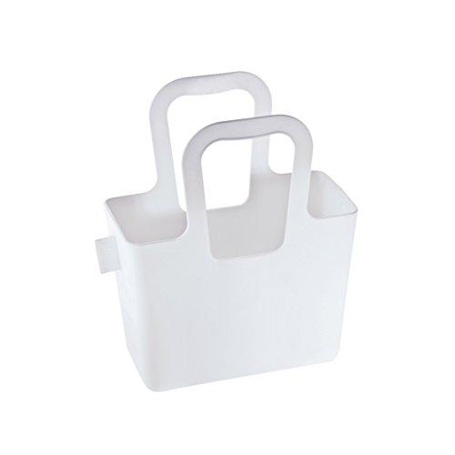 koziol Tasche Taschelini, Kunststoff, weiß, 7,8 x 16,1 x 18,3 cm